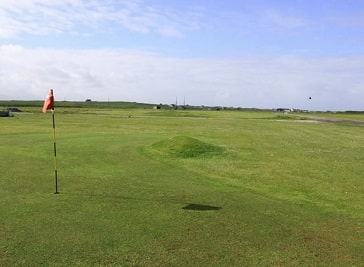 Benbecula Golf Club in Outer Hebrides