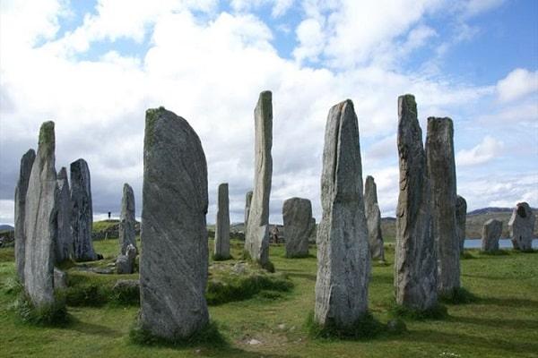 Calanais Standing Stones in Outer Hebrides