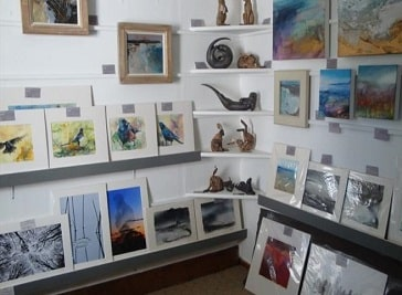 Finsbay Gallery in Outer Hebrides