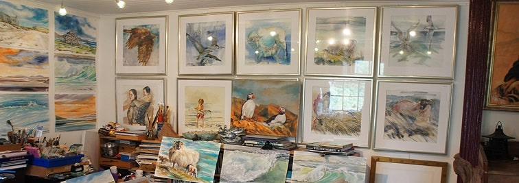 Harris-Art-Gallery in Outer Hebrides