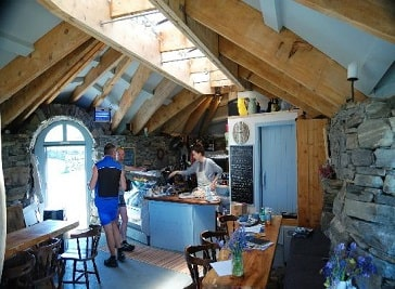 Temple Cafe in Outer Hebrides