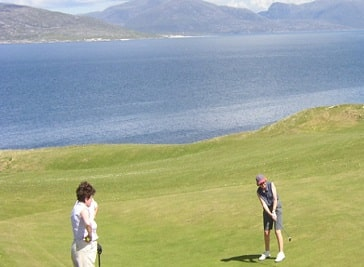 The Isle of Harris Golf Club in Outer Hebrides